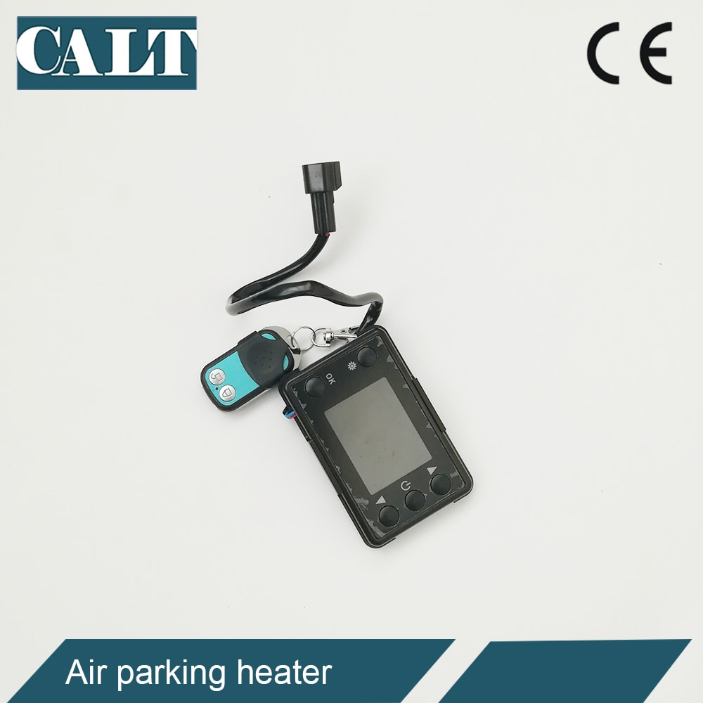Low price for 5kw diesel fuel heater remote control switch car truck air parking heater 12v / 24v enlarge