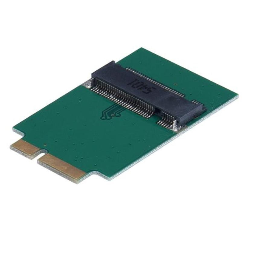 Оптовая продажа ПК адаптер addon plug - ins M.2 NGFF SSD до 12 + 6 Pin адаптер плата карты для MacBook Air 2010 2011 A1370 A1369