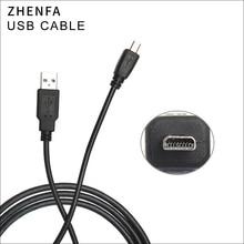 Zhenfa Câble USB pour Appareils OLYMPUS FE-20 FE-220 FE-230 FE-240 FE-250 FE-280 FE-290 FE-300 FE-3000 FE-3010 FE-310 FE-320
