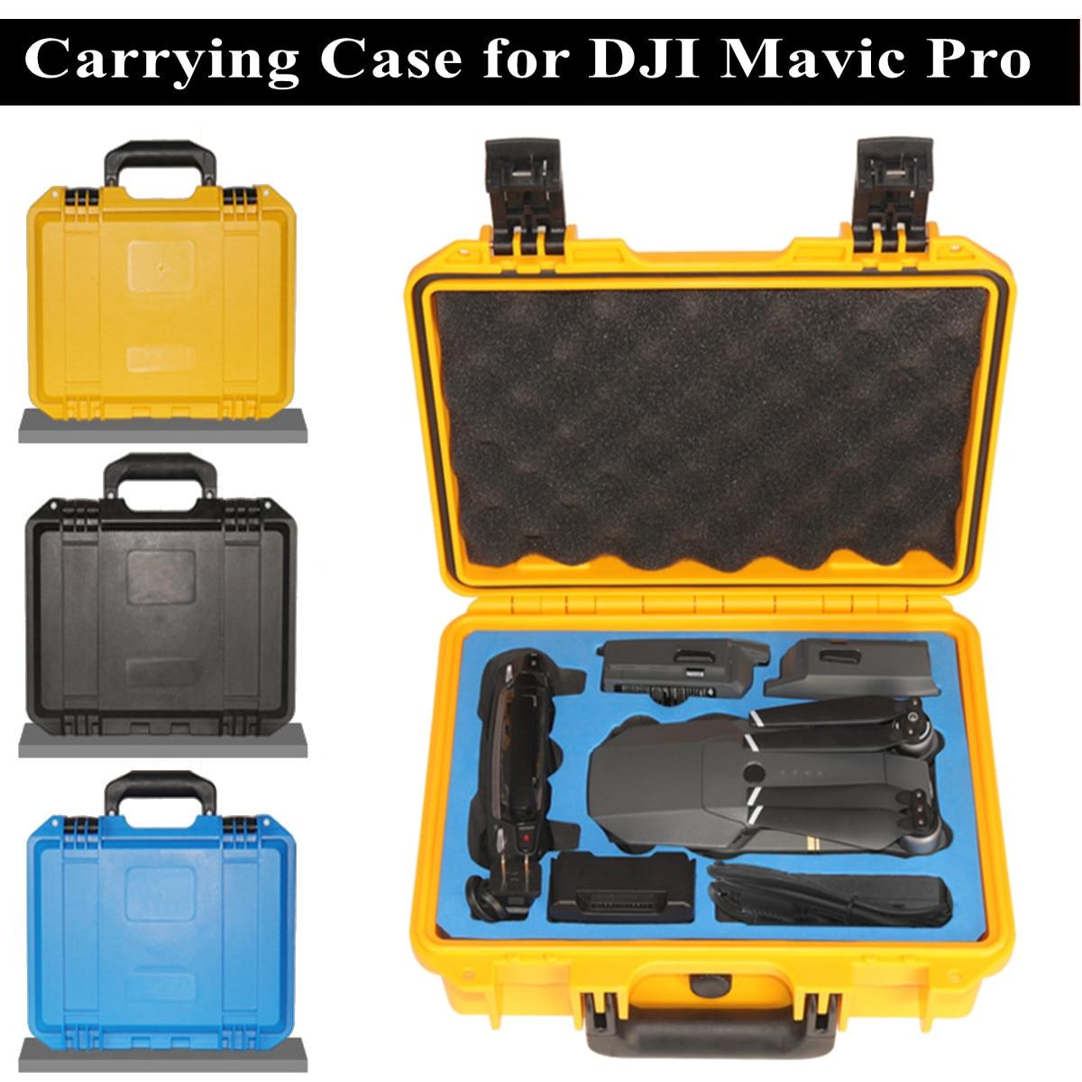 Carring чехол Защитный портативный ящик водонепроницаемый непромокаемый ABS + EVA Жесткий Чехол для DJI Mavic Pro RC Drone