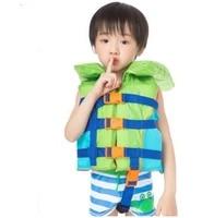 adjustable kids neoprene floating inflatable life vest boys scuba water sport snorkeling drifting surfing safety swimlife jacket