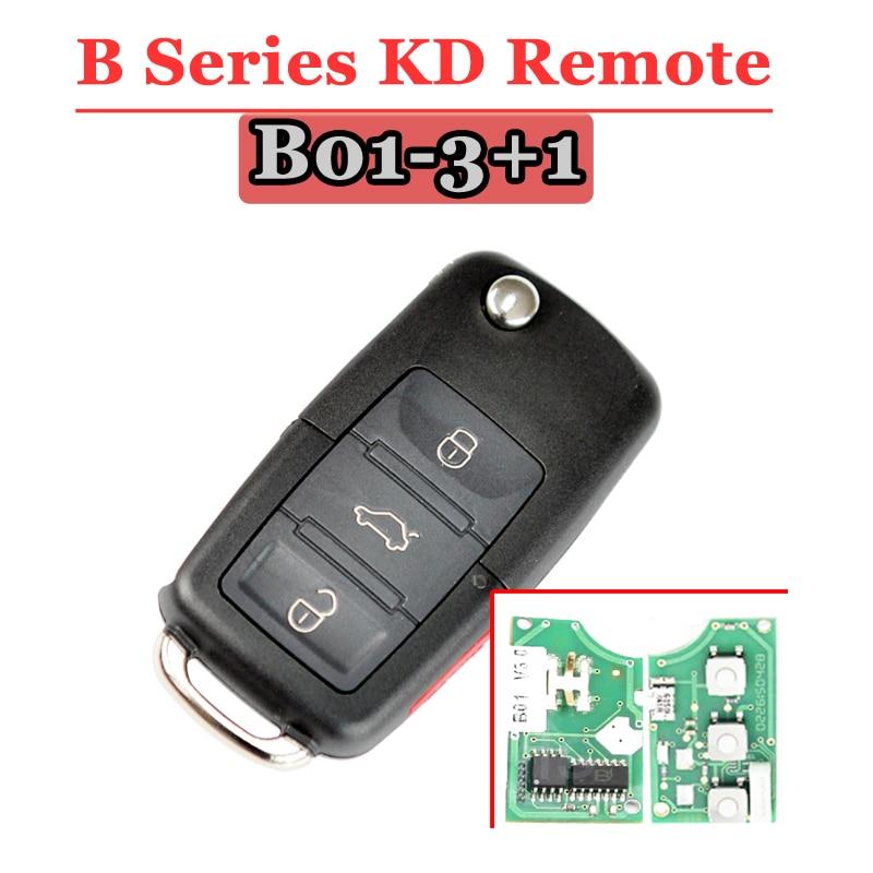 Kd900 controle remoto b série chave remota b01 3 + 1 botões chave remota para keydiy kd900 máquina
