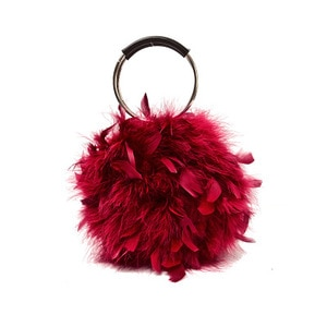 NEW Faux Fur Women Fur Bags Famous Brand Women Clutches Ladies Evening Clutch Purse Fashion Ostrich Feather Hand Bag Luxurious