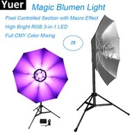 high bright rgb 3in1 led magic blumen light led 114pcs 0 2w dmx512 dj disco stage effect light flashing lights dance color club