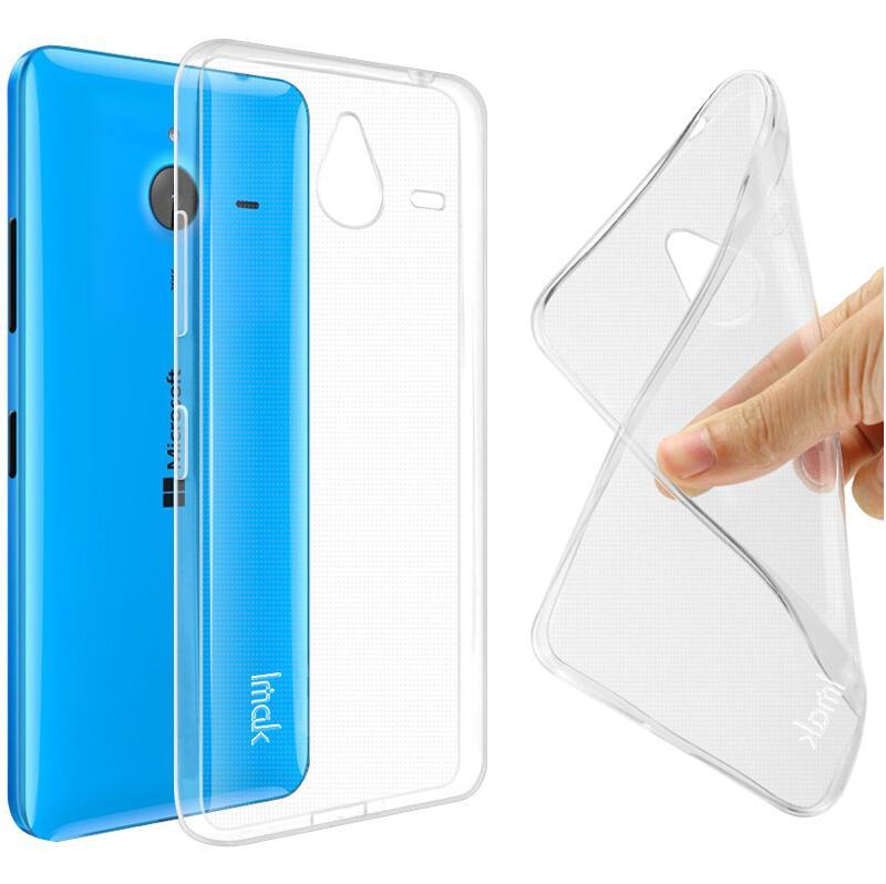 Dla microsoft lumia 535 532 435 640 640xl case cover, 0.6mm tpu case super slim miękkie back case etui na telefony 13