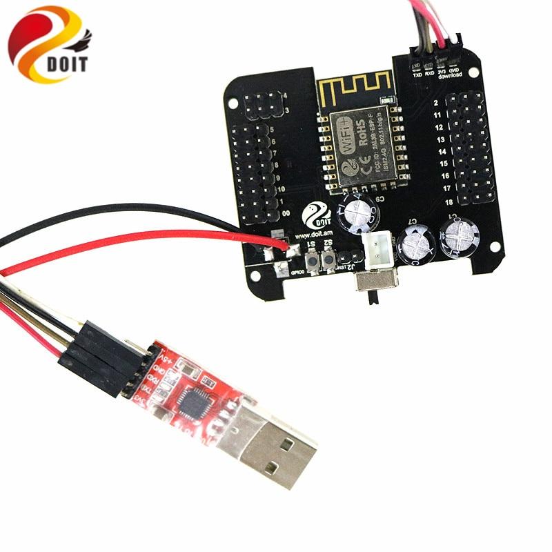 Placa de Control humanoide compatible con plen2, plen 2 + CP2102, USB 2,0 a UART, módulo conector TTL, convertidor Serial de firmware