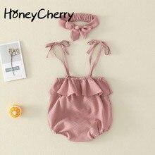 الرضع حديثي الولادة شيالة بيبي تسلق الملابس الملابس القطنية مثلث كازاخستان إرسال هوب ملابس طفلة