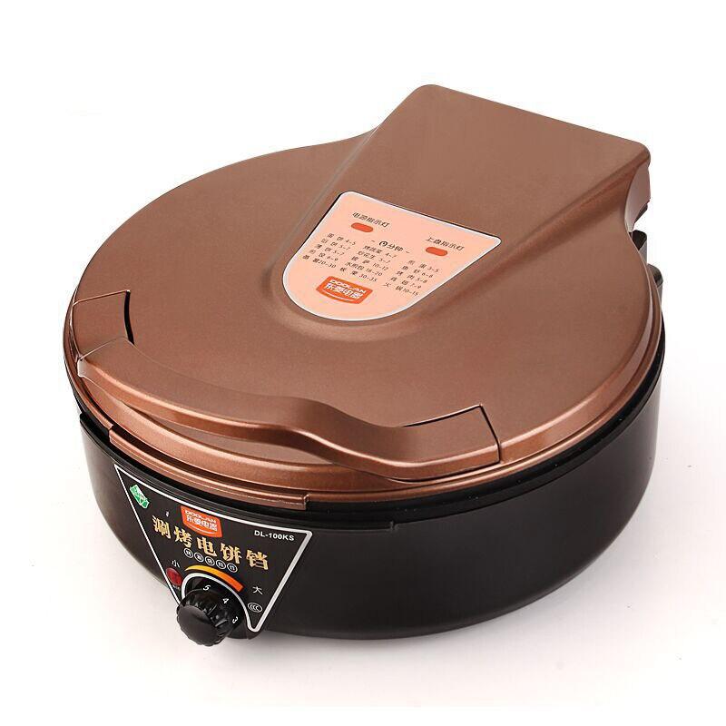 متعددة الوظائف الكهربائية الخبز عموم سعة كبيرة قابل للتعديل درجة الحرارة غير عصا دخاني شواء شواء الطبخ فرن DL-100KS