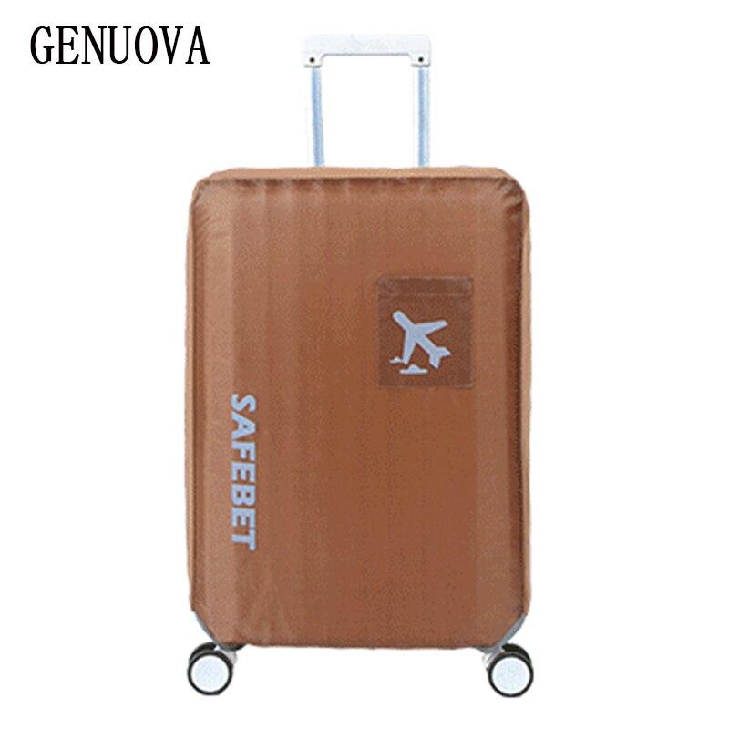 Viajes impermeable equipaje cubierta de protección en la carretera resistente al desgaste de protección cubierta anti polvo para maleta de 18 a 30 pulgadas