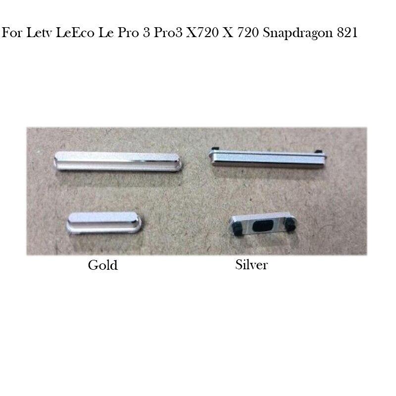 Side Button For Letv LeEco Le Pro 3 Pro3 X720 X 720 Power On Off Button + Volume Button Side Button Set Replacement Repair