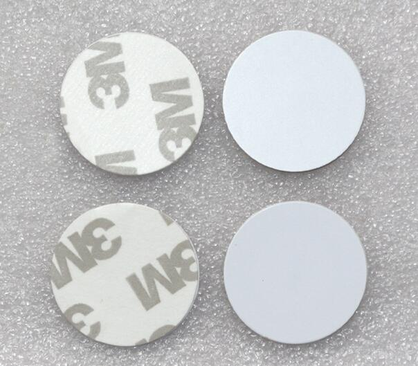 Tarjeta de Moneda IC 10 Uds 13,56 MHZ ISO14443A con adhesivo 3M...