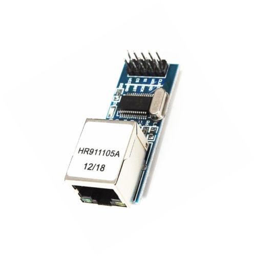 Mini enc28j60 ethernet lan/módulo de rede para arduino 51 avr stm32 lpc