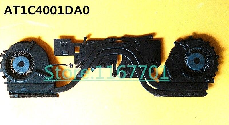 Nuevo disipador térmico y ventilador Original para ordenador portátil HP ZBook Studio G3 840960-001 DFS501105PR0T-FGFA DFS501105PQ0T-FGF9 AT1C4001DA0