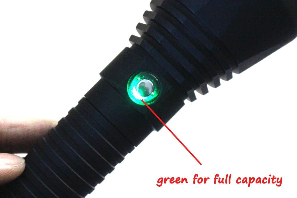 8000 Lumens Powerful led flashlight XHP70 LED Diving flashlight Underwater100M waterproof lanterna White Light Fishing lights enlarge