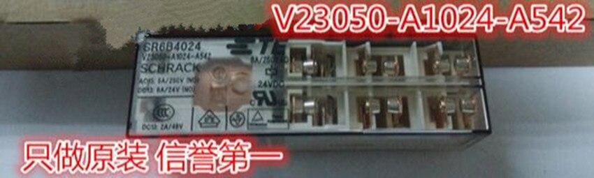 V23050-A1024-A542 24VDC TYCO SCHRACK SR6B4024 nuevo y original