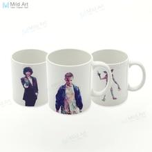 Modern Color Abstract Pop Movie Stranger Eleven Kitchen Ceramic Water Cup Creative Boy Gifts Drinks Coffee Tea Milk Mugs Set