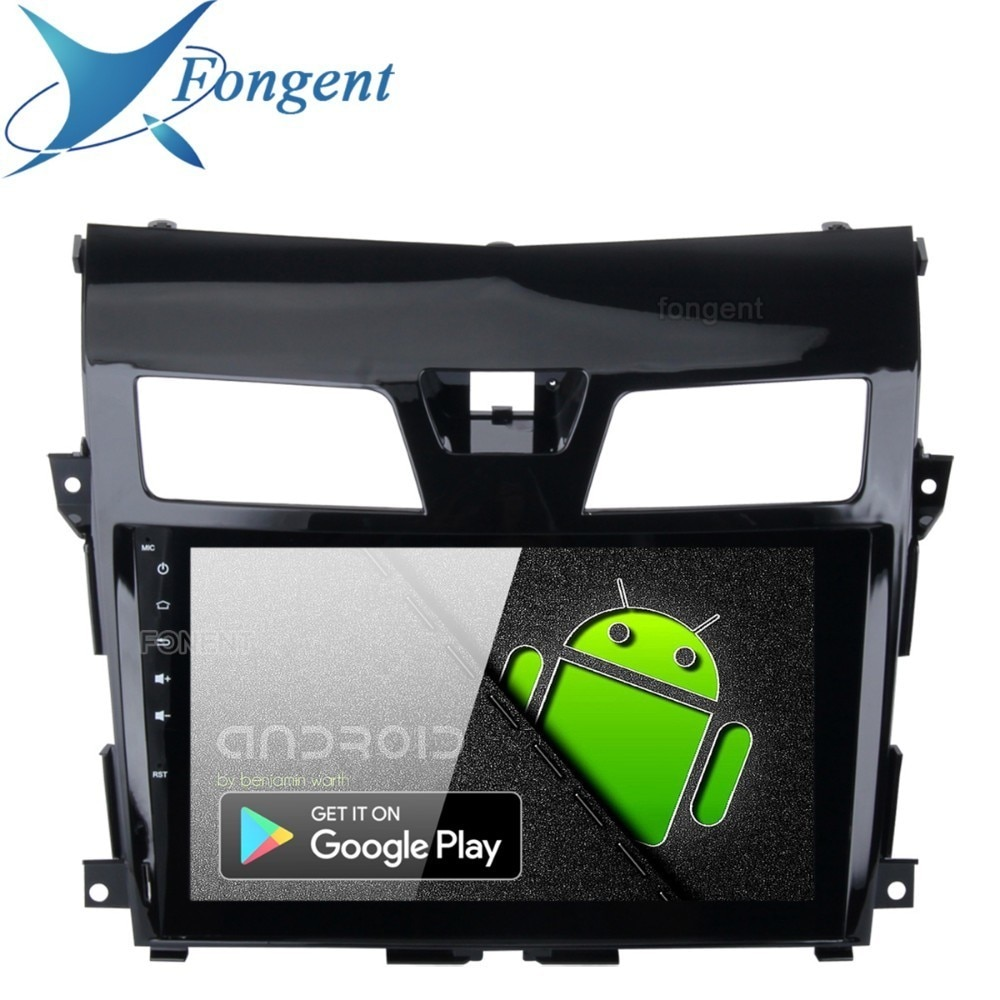 "Fongent 10,2 ""1 Din Auto Radio Android 9,0 para Nissan Teana Nissan Altima 2013, 2014, 2015 de Control de volante HDMI"