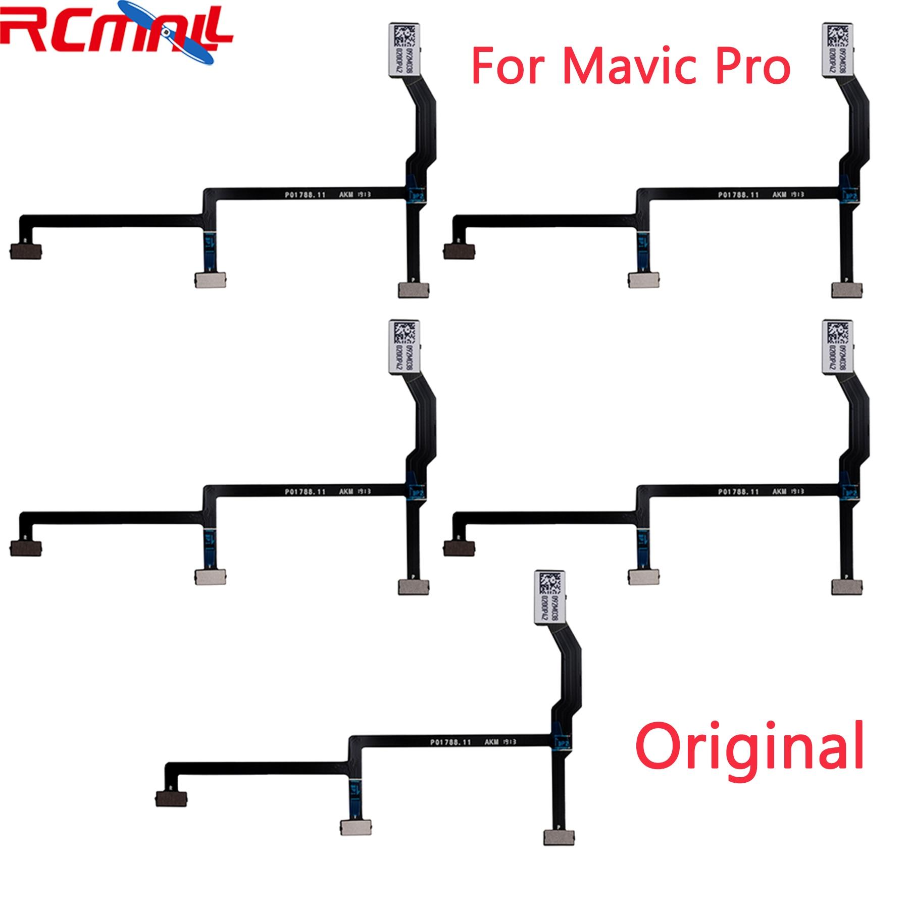 5 шт. оригинальный Гибкий плоский кабель для DJI Mavic Pro Gimbal гибкий запасные части для дрона RCmall DR2070A