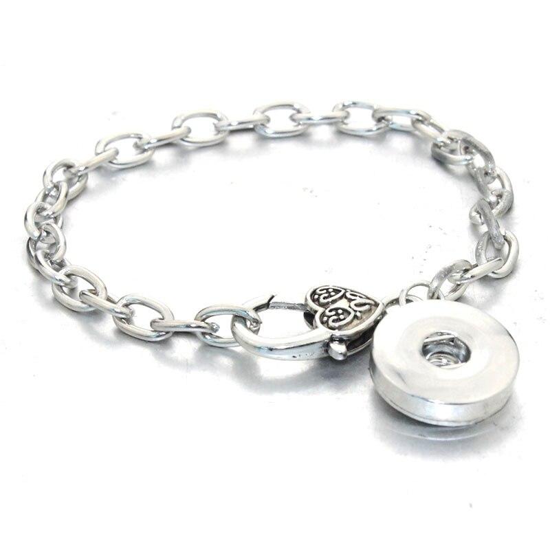 21 см браслет с застежкой Лобстер новейший дизайн цепочка винтажный браслет подходит 18 мм защелки ювелирные изделия 1950