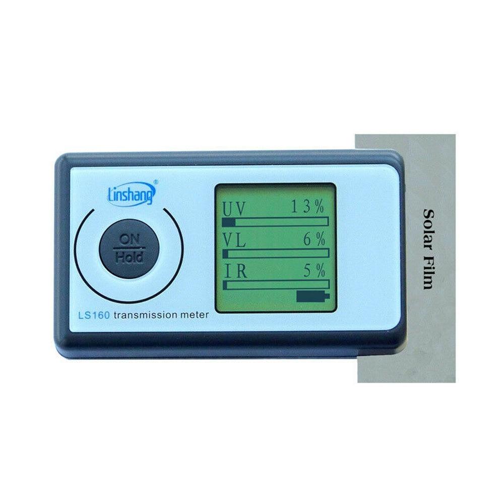 مقياس نقل شمسي محمول ، فيلم شمسي ، اختبار windows 3 في 1 ، جهاز اختبار نقل الضوء ، LS160