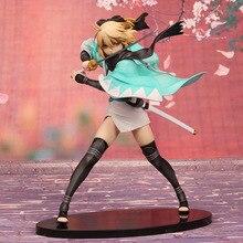 Japan Anime Fate Grand Order Okita Souji Saber Action Figure Model Toy