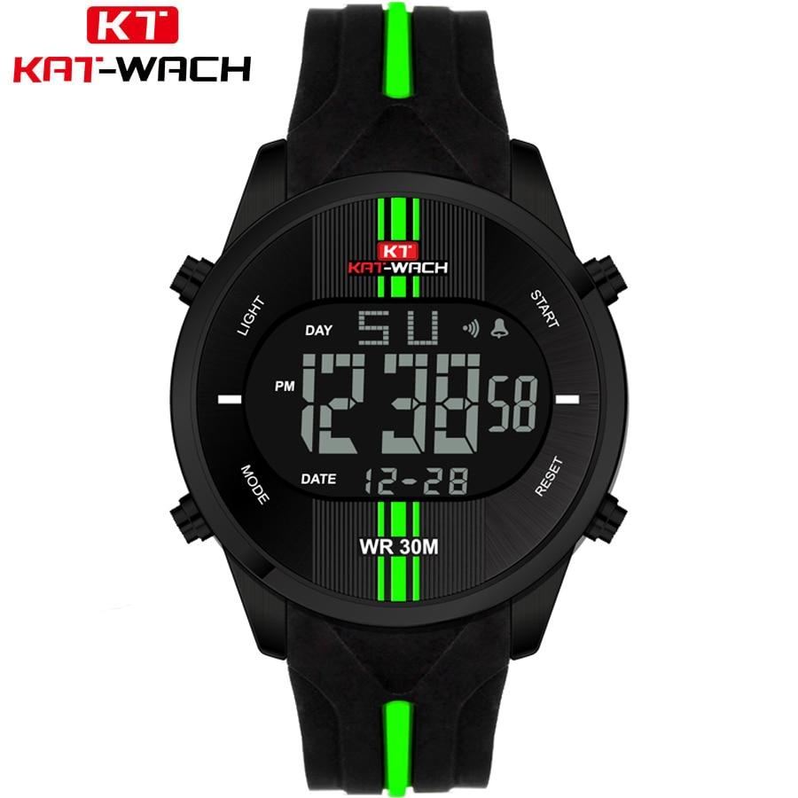 Mens Watches Top Brand Luxury Electronics Watch Men Style Military Army Shock Sport Wrist Watch LED Analog Digital Clock Saat