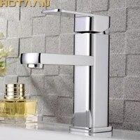 Melangeur de lavabo robinet deau froide et chaude  livraison gratuite  robinet de salle de bains a poignee unique torneiras do banheiro