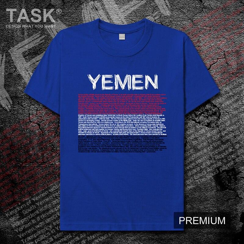 Camiseta para hombre Yemeni Arabi YEM nueva camiseta Camiseta de manga corta sudadera Equipo Nacional camisetas deportivas