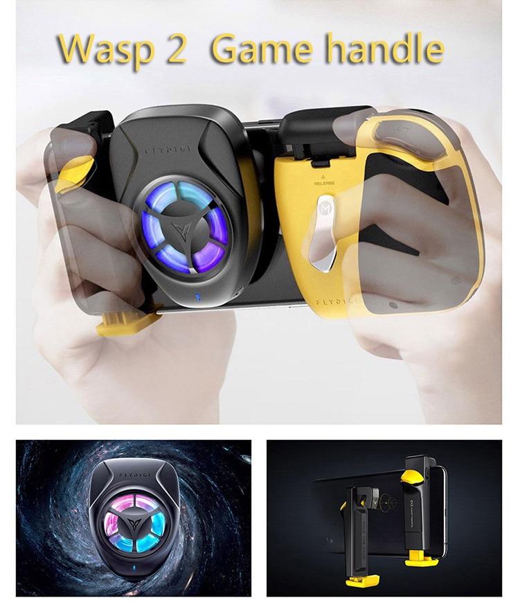 Flydigi Wasp2 pubg mobile controller di gioco mobile di Bluetooth gamepad ape sting trigger per Android/ios syste