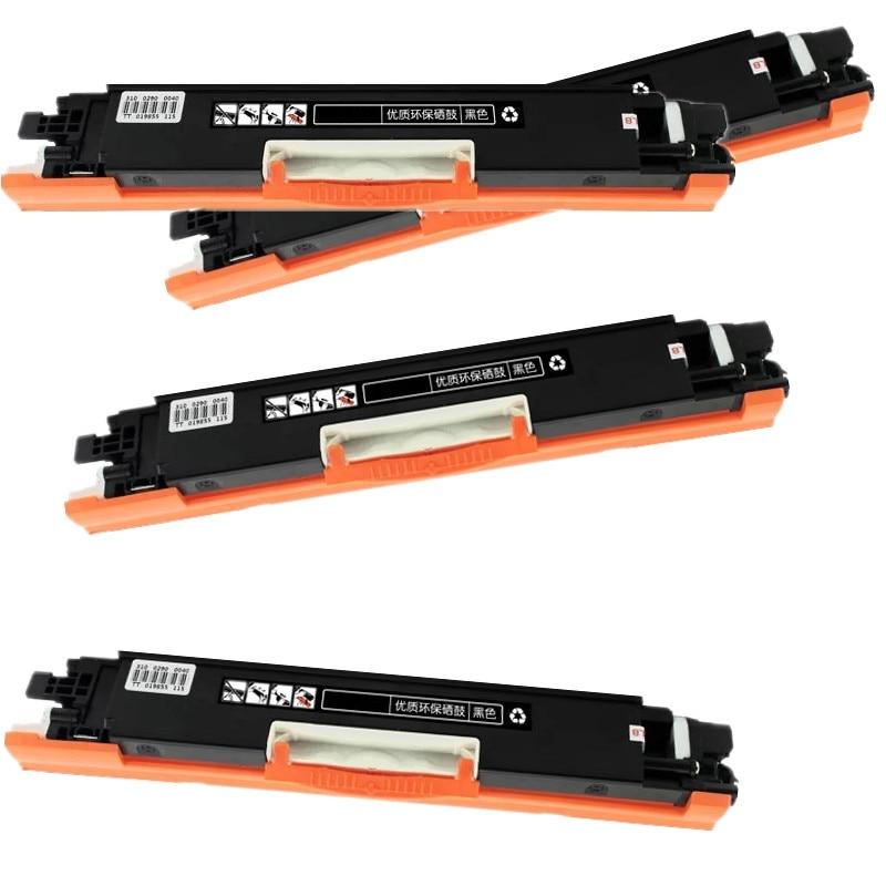 4 PCS  Black Toner Cartridge Compatible for Canon Laser Toner LBP7010C 7010 LBP7018C LBP7018