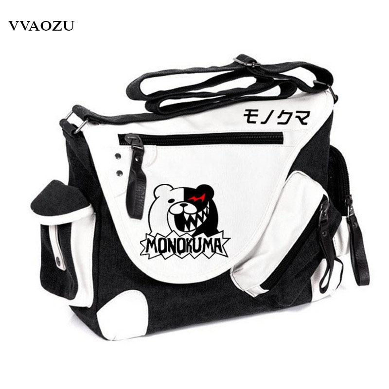 العلامة التجارية مصمم دانغانرونا مونوكوما حقيبة ساع حقيبة كتف كروسبودي بولسا الأنثوية المدرسية