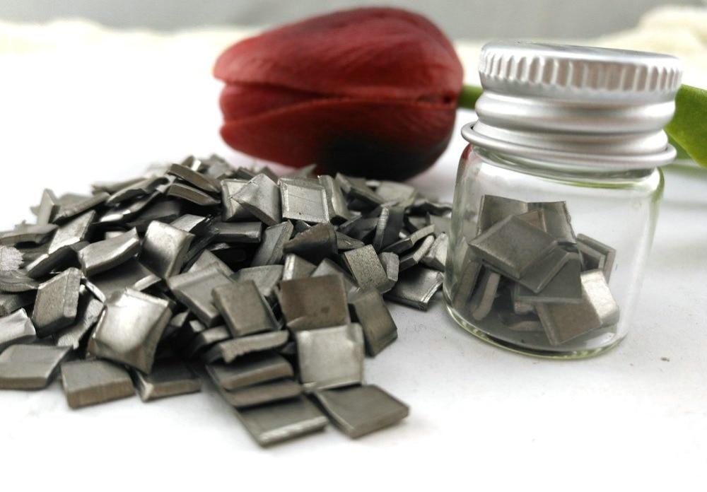 10 gramos alta pureza 99.95% niobio Nb bultos de Metal
