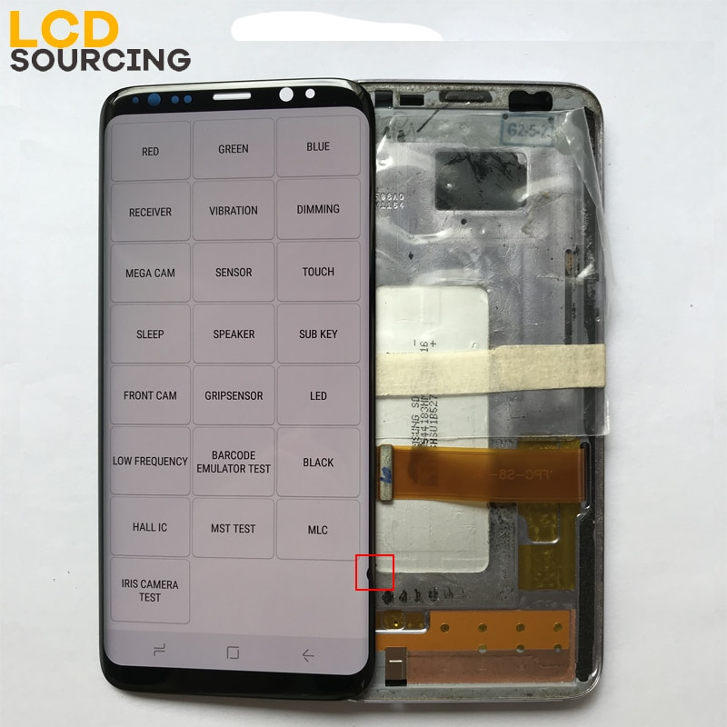 Small Dead Pixels Display for S8 LCD Replace for SAMSUNG Galaxy S8 G950 G950F Display S8 Plus s8+ G955 Touch Screen Digitizer enlarge