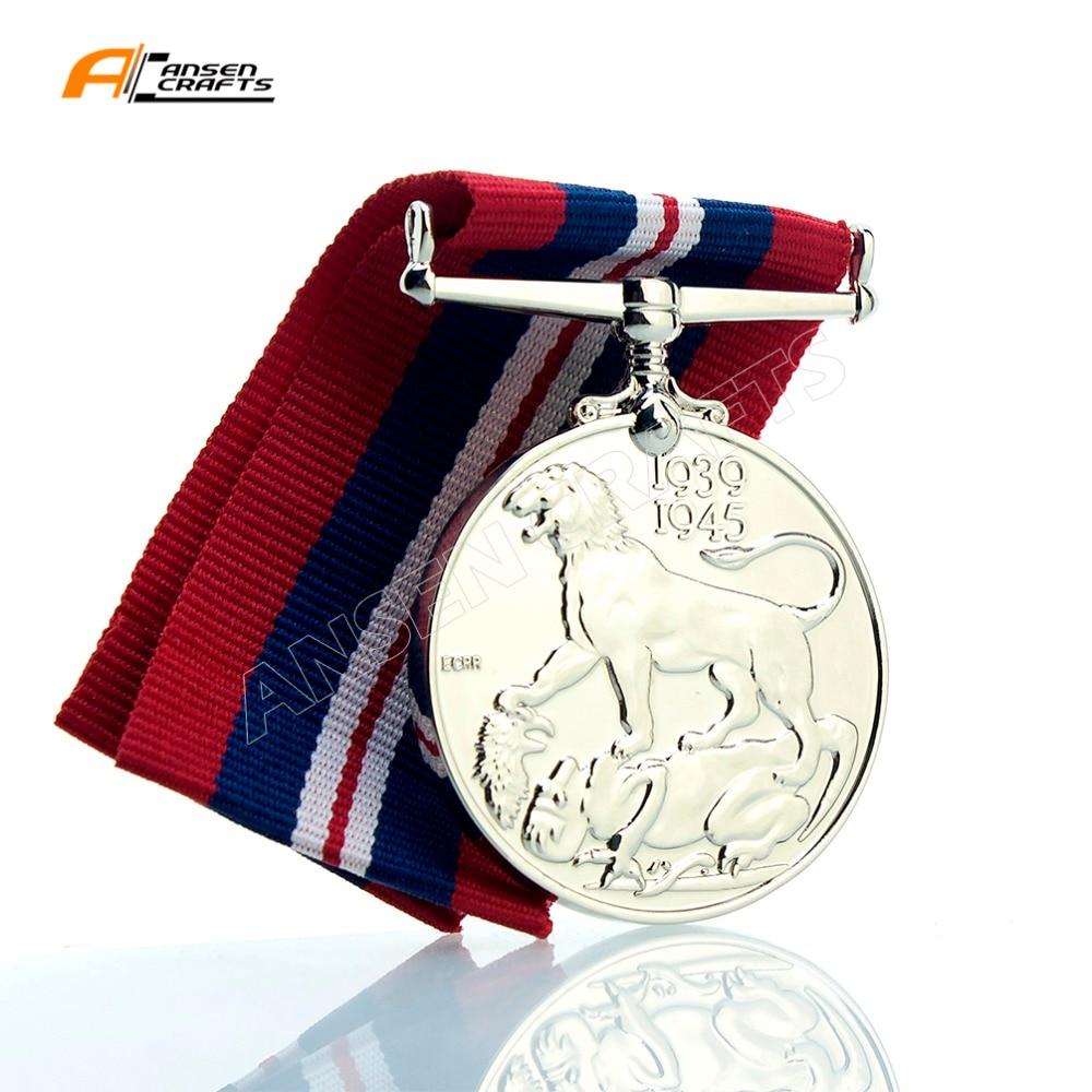 Medalla Militar de la guerra británica WW2 Georgivs VI