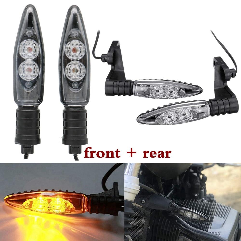 Luces LED con indicador de giro delantero y trasero para BMW R1200GS F800GS S1000RR F800R K1300S G450X F800ST R nine T