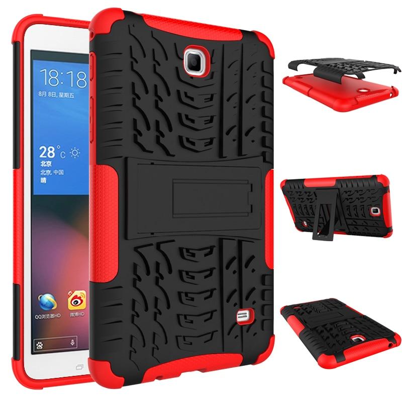 """Heavy Duty Unverwüstliche Rüstungs Blenden Stoßfest KickStand Fundas Fall Für Samsung Galaxy Tab 4 7,0 """"t230 t231 t235 tablet abdeckung case"""
