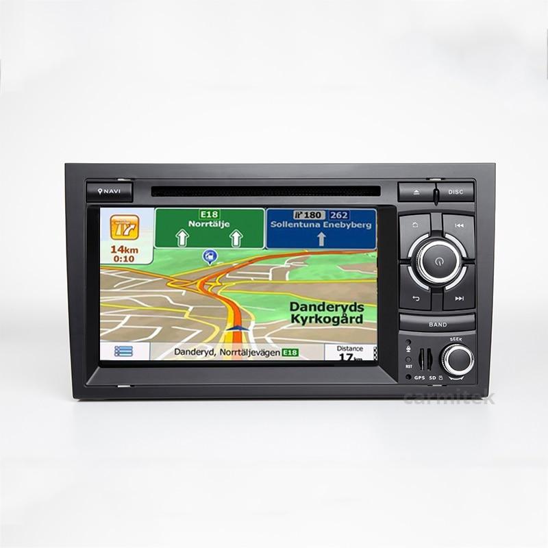 2 din rádio do carro dvd player multimídia estéreo para audi a4 2002 -- 2008 b5 b6 b7 gps autoradio sistema de navegação