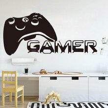 Grote Gamer Controller Muursticker Jongen Kamer Speelkamer Gamer Spelers Gaming Time Xbox 360 Ps Game Controller Muurtattoo Slaapkamer