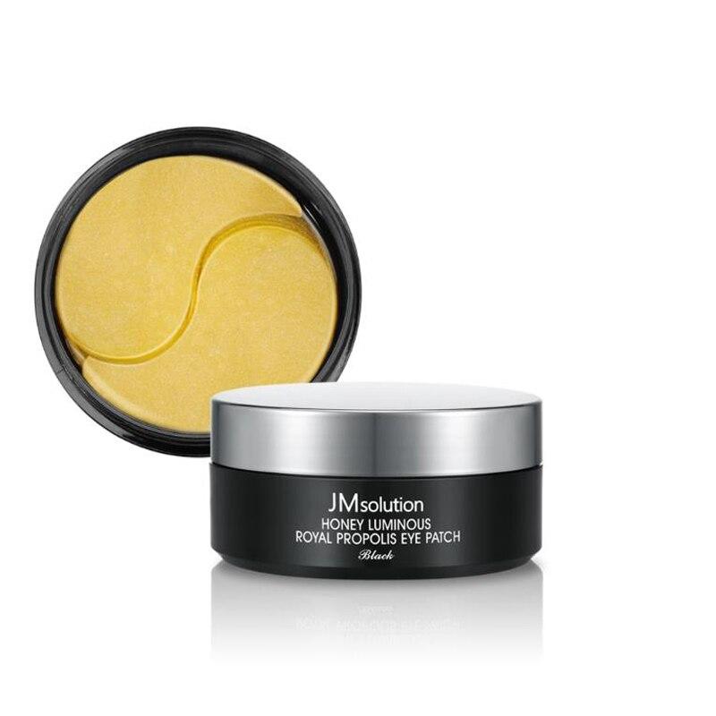 Korea Cosmetic JM Solution Honey Luminous Royal Propolis Eye Patch 60pcs Collagen Eye Mask Eye Care Sleep Masks Face Care Mask