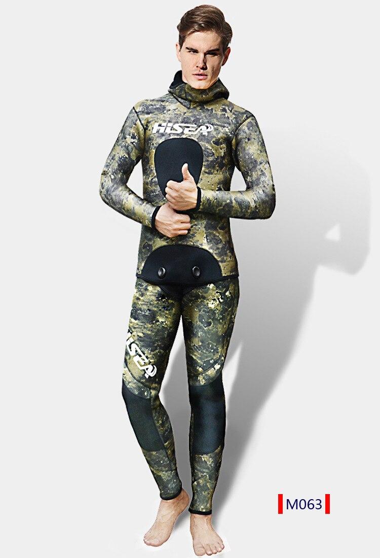 5MM Neoprene Camouflage Wetsuit Full Body Swim Bodysuit  Scuba Swim Warm Surf Snorkeling Spearfishing Water Sport Diving Suit