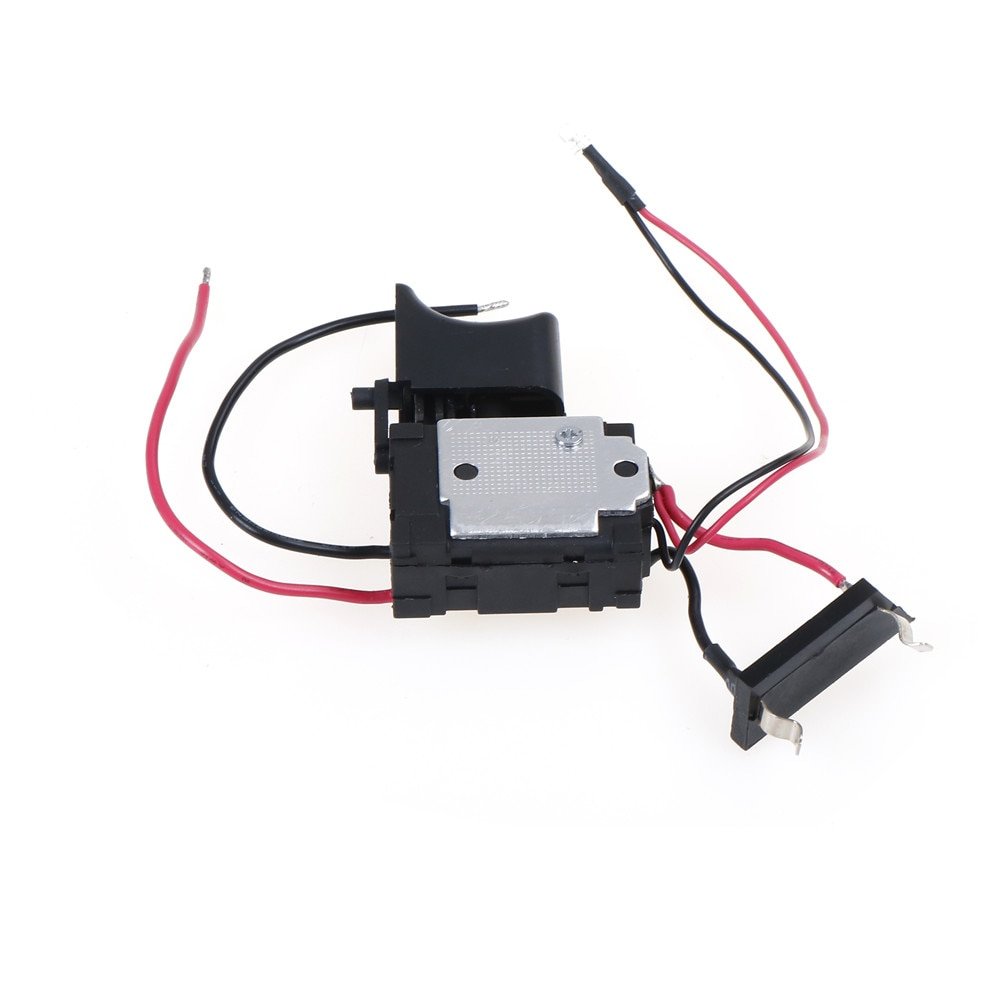 Nuevo y práctico interruptor inalámbrico DC 7,2-24V, con carcasa de plástico y gatillo de alta calidad