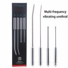 20-frequentie Penis Plug Vibrator Rvs Urethrale Dilators Penis Insert Klinkende Rod Speeltjes Voor Mannen Dick Electro