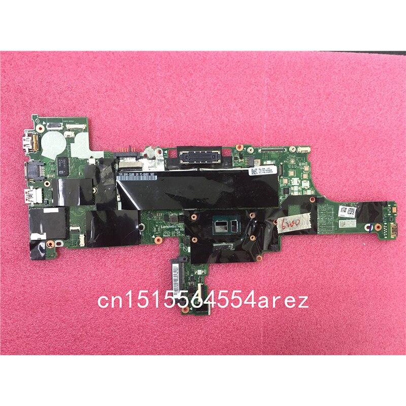 الأصلي كمبيوتر محمول لينوفو ثينك باد T460 اللوحة اللوحة فوز i5 i5-6200U ، UMA ، TPM NM-A581 01AW324