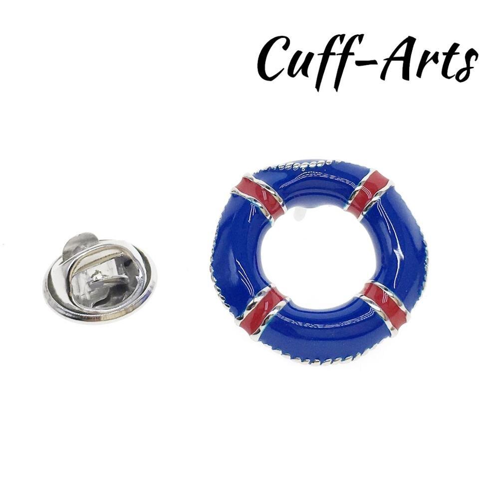 Broche de solapa para hombres placa vida cinturón PIN para solapa con insignia novedad broches de pin de solapa por Cuffarts P10323