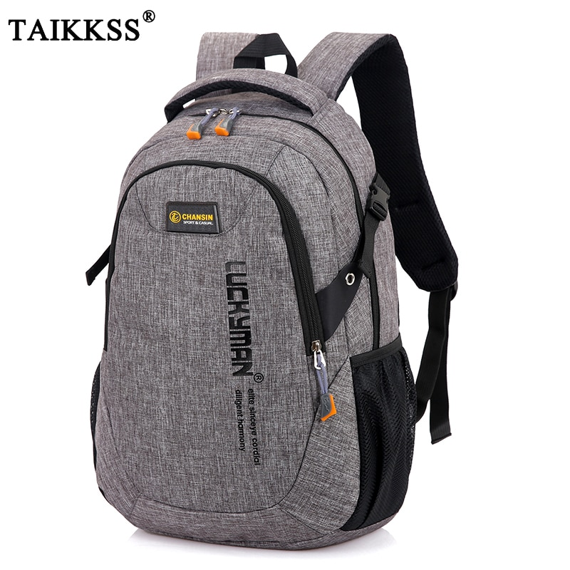 2020 New Fashion Men's Backpack Bag Male Polyester Laptop Backpack Computer Bags high school student