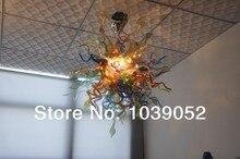 Free Shipping Majestic Lighting Handmade Glass Antique Chandelier
