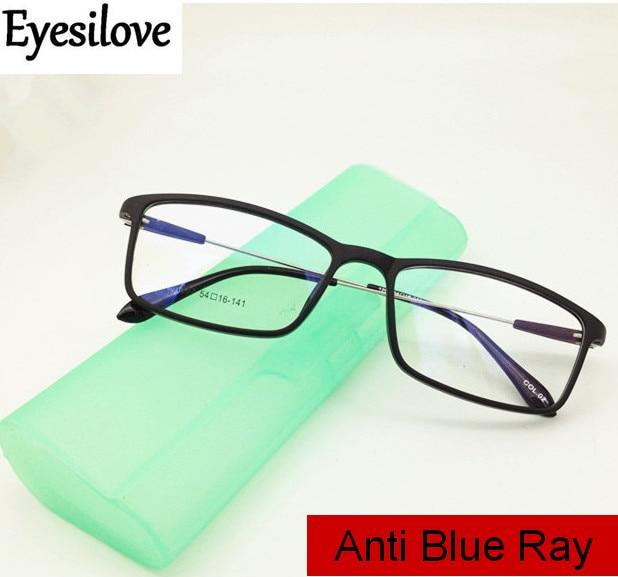 Eyesilove women Anti-blue ray myopia glasses men anti-blue light blocking filter eyeglasses prescrip