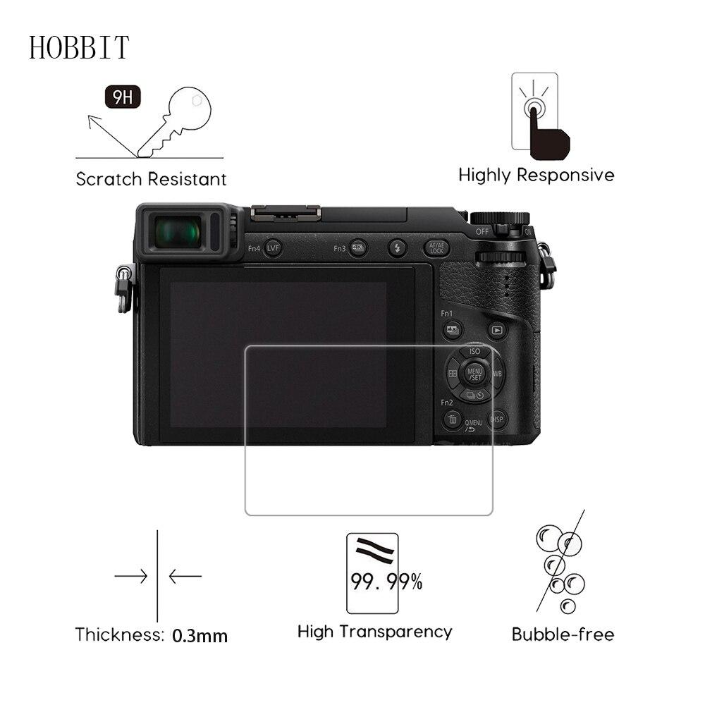 2 упаковки для Panasonic Lumix DMC GX80 GX7II G8 0,3 мм 2.5D 9H прозрачное Закаленное стекло Защитная пленка для экрана Цифровая камера