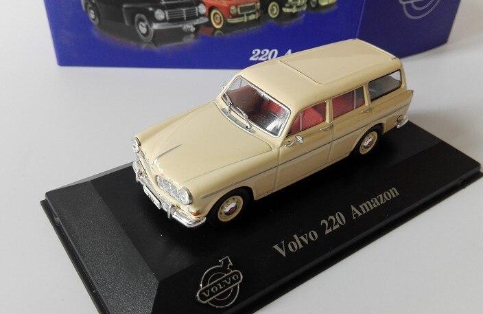 A LAS 143 VOL. 220, coche de modelo de aleación, juguete de Metal fundido a presión, regalo de cumpleaños para niños