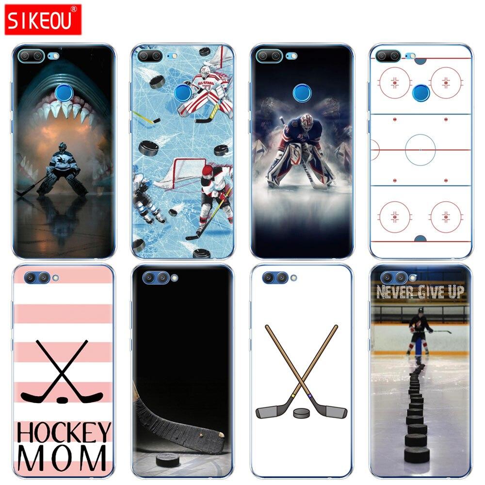 Силиконовый чехол для телефона Huawei Honor 10 V10 3c 4C 5c 5x 4A 6A 6C pro 6X 7X 6 7 8 9 LITE хоккея на льду